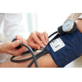 Physician measuring if a patient needs lower blood pressure